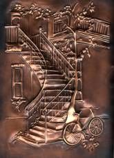 Fan gal Metal Art, Wood Art, Pewter Art, Metal Embossing, Copper Art, Iron Decor, Metal Crafts, Sculpture Art, Metal Working