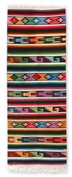 Zosimo Laura Andean Hand-Loomed Area Rug