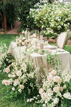 Romantic Al Fresco Orchard Wedding at Gerry Ranch — Wedding DJ Wedding Dj, Garden Wedding, Floral Wedding, Wedding Events, Wedding Flowers, Blush Wedding Reception, Romantic Flowers, Wedding Dinner, Wedding Quotes