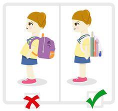 postura correcta niños - Buscar con Google