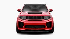Body kits for Jeep GC Trackhawk | Renegade Design Jeep Srt8, Ground Effects, Body Kits, Stop Light, Wide Body, White Teeth, Hot Cars, Pure Products, Trucks