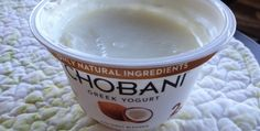 Chobani Coconut Blended Greek Yogurt