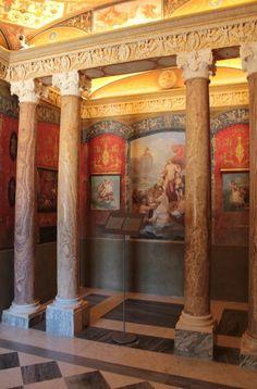 Musei di Villa Torlonia, Casina delle Civette, Roma #invasionidigitali #musei