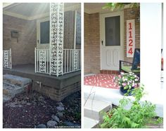 Simple and affordable DIY home update. Completely changed the look of the house. Perfect if you are dealing with dated wrought iron!
