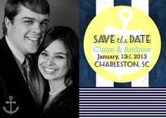 nautical save the date magnets!