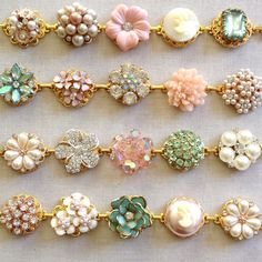 Browse unique items from ChicMaddiesBoutique on Etsy, a global marketplace of handmade, vintage and creative goods. Seed Bead Bracelets Diy, Beaded Bracelet Patterns, Custom Jewelry, Handmade Jewelry, Vintage Jewelry Crafts, Bridesmaid Jewelry, Charm Jewelry, Artisan Jewelry, Jewelery