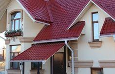 Металлочерепица, как надежный кровельный материал #крыша #металлочерепица #дом #строительство