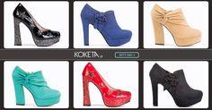 Η αναζήτηση για νέα παπούτσια τελειώσε !  #moda #koketa #fashion #shoes #stylish  #Highheels #shoppaholic #trends #musthave