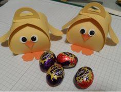 Curvy Keepsake Easter Chicks