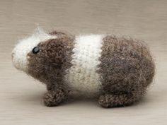 Amigurumi crochet guinea pig pattern by SonsPopkes on Etsy https://www.etsy.com/uk/listing/480872000/amigurumi-crochet-guinea-pig-pattern