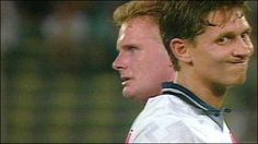 1990 - World Cup Semi-Final. England lose to Germany on penalties after 1-1 draw