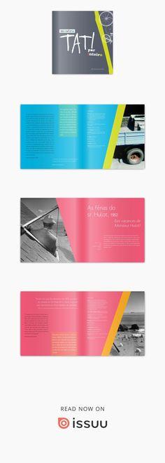 Mostra Tati por Inteiro editorial design: Hannah23  catálogo da mostra de cinema sobre a obra de Jacques Tati desenvolvida pelo Dep. Nacional do Sesc