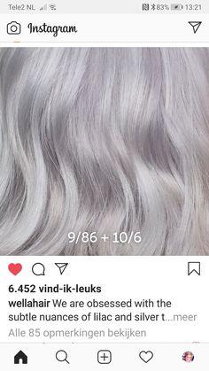 Wella Hair Toner, Aveda Hair Color, Hair Color Formulas, Hair Color Techniques, Hair Painting, Pixie Hairstyles, Love Hair, Brunette Hair, Silver Hair