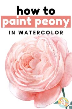 Learning how to paint flowers in watercolor is very fun and this is the step by step guide for you that will help you do just that. Tree Watercolor Painting, Watercolor Art Lessons, Watercolor Paintings For Beginners, Daisy Painting, Watercolor Projects, Floral Watercolor, Watercolor Tutorials, Painting Tutorials, Watercolor Techniques