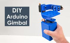 In this tutorial we will learn how to build an Arduino Gimbal or a self-stabilizing platform with servo motors. This tutorial is actually an extension. Servo Arduino, Arduino Robot Arm, Arduino Wireless, Arduino Cnc, Arduino Board, Electronics Components, Diy Electronics, Electronics Projects, Arduino Radar