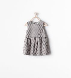 ZARA - KIDS - PINAFORE DRESS WITH FRONT POCKET
