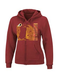 Ladies Full Zip Robert Griffin III  Hooded Sweatshirt