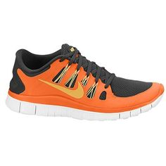 Nike Free 5.0+ Zapatillas de running - hombre Carbonizado Gris / Naranja Urbana / Blanco / Oro,Latest trainers arrive - order from us with good price.