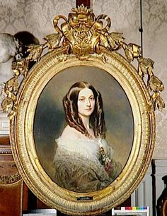 1857 Marquise de las Marismas (Versailles)  Previous  Next  List  This 1857 work is the second of the two Winterhalter solo portraits of the Marquise de Las Marismas.