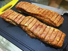 Finally i can create my own recipe for crispy pork belly!! Yeay!! And all the skin is crispy!! The taste is as good as its look.. We're ready for our chinese new year dinner!!  #cook #cooking  #chef #chefwannabe #amateurchef #jakarta #indonesia #echristina22 #snapfoodie #eat #food #foodies #foodgasm #foodporn #foodtograph #kitchen #dream #foodblogger #07.02.2016 #roast #grill #bbq #pork #porkbelly #crackling #chinese #asia #siobak #chinesenewyear by echristina22