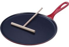 le creuset crepe pan.  if only I had unlimited kitchen space...