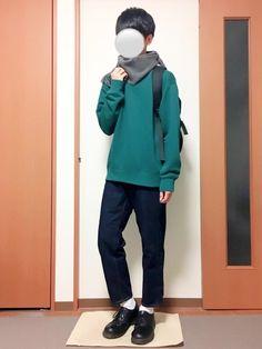 いつも見ていただきありがとうございます(^^) 夜遅くになってしまいました😅 今回はスウェットコー Normcore, Hoodies, Sweaters, How To Wear, Style, Fashion, Swag, Moda, Sweatshirts