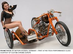 Best Custom Motorcycles at 2011 Custom Chrome Europe Dealer Show – Photos of Winning Bikes with Biker Girls (Part Bike With Sidecar, Sidecar Motorcycle, Bike Bmw, Cafe Racer Girl, Classic Car Insurance, Cool Motorcycles, Mini Bike, Biker Girl, Show Photos