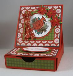 QFTD194 Christmas Gift Card Box
