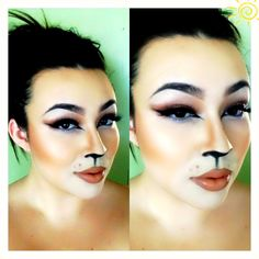Lion Halloween makeup #makeupbymacfreak30
