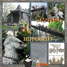 Wizarding World of Harry Potter - Page 12 - MouseScrappers.com