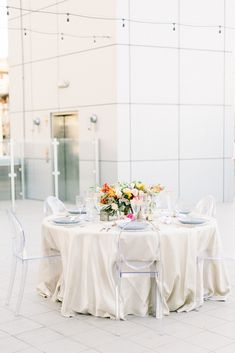 La Tavola Fine Linen Rental: Flash Gold | Photography, Styling & Design: Stacey Poterson, Florals: Garden Gate Florals, Venue: Hotel Palomar, Laser Cut Names: Borrowed From a Bride, Rentals: Event Rents