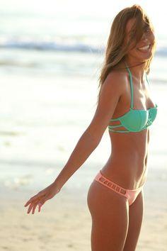 Issa de' mar Coral & Pink Bikini