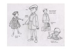 Flooby Nooby: Borja Montoro - Character Design for 'Giacomo's Secret'