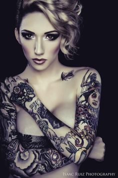 Women with Sleeve Tattoos | Inked Magazine