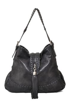 I love a black leather bag with fringe. My new bag has some fringe, love it.