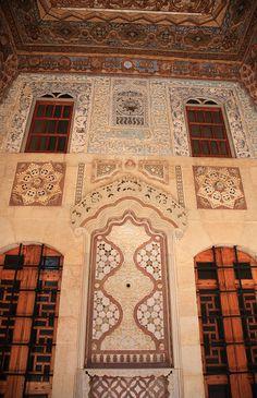 Beiteddine Palace,Beiteddine,Lebanon Mosaic s of coloured marble