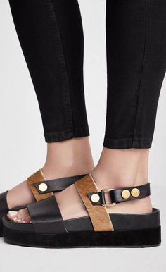 Free People - Shoe - Free People Little Rock Flatform Sandal - Cheeky Peach Boutique - 1