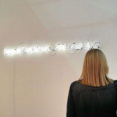 """JosephKosuth """"Condizioni d'Assenza (Il nome e chi lo porta, a.G) VI"""", Lia Rumma Gallery - Main Section 2015"""