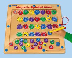 Magnetic Alphabet Maze | shopswell