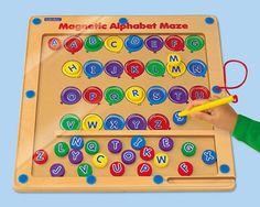 Magnetic Alphabet Maze   shopswell