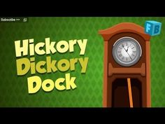 Hickory Dickory Dock - Children Nursery Rhymes   Song , Full Lyrics - YouTube  (jazzy)
