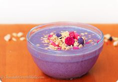 Get the recipe for this incredibly colorful and delicious Acai Smoothie Bowl! Whip it up for breakfast or a midday snack.