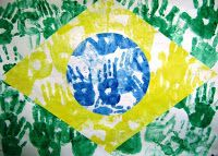 Fast Food Cultural is coming soon Craft Activities For Kids, Preschool Crafts, Crafts For Kids, Carnival Crafts, Carnival Activities, Brazil Flag, Samba Brazil, Cheap Party Decorations, Classroom Art Projects