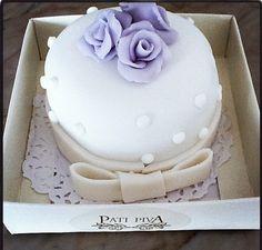 bolo de casamento mini