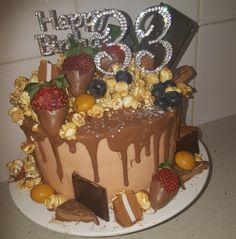 Caramel Drip Cake, Drip Cakes