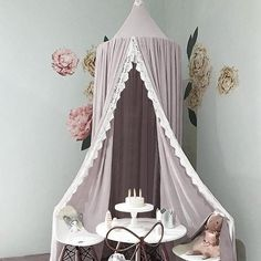 Us 3515 23 Off High Quality Nordic Round Mosquito Net Kids Room Decoration Bed Boys Girls Bed Chiffon Mosquito Net Princess Room Decor In Mosquito Baby Bed Canopy, Princess Canopy Bed, Kids Canopy, Canopy Curtains, Baby Crib Bedding, Canopies, Boy Decor, Baby Room Decor, Nursery Decor