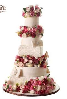 Amazing Wedding Cake! #wedding #cake #inspiration