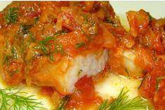 Вкуснейшая тушеная рыбка с помидорами