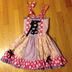 Little girls Rapunzel dress Little girls Rapunzel dress- custom made. Little girls size 4 Dresses