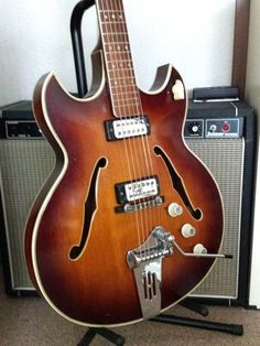 1966 Hofner 4578 V Thinline Archtop Guitar